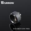 Barrow Fitting C99 Pro สีเงิน ท่ออคริลิค14mm