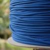 สายถัก 4 mm กลม สีน้ำเงิน