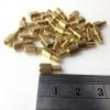 น๊อตทองเหลือง M3.5 เกลี่ยวหยาบ ขนาด 6*6