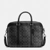 กระเป๋าผู้ชาย COACH PERRY SLIM BRIEF IN SIGNATURE F54803