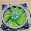 พัดลมวงแหวน Aurora solar สีเขียว (ไม่มีกล่อง)