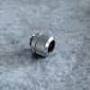 Fitting ท่อ14mmสีเงิน แหวน3ชั้น