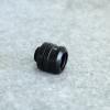Fitting ท่ออคริลิค14mm สีดำ แหวน4ชั้น