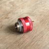 Fitting ท่ออคริลิค14mm สีแดง