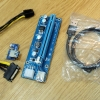Riser card Adaptor PCI X1 to PCI X16 USB3.0 6Pin