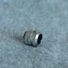 Fitting ท่ออคริลิค14mm สีเงิน แหวน4ชั้น