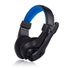Lupuss G1 3.5mm Stereo Gaming Headset สีดำ-น้ำเงิน