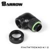 Barrow 90 Rotary ท่ออคริลิค 12mm สีดำ TWT90KND-K12