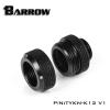 Barrow Fitting K12 V1 สีดำ ท่ออคริลิค12mm