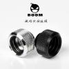 Fitting ท่ออคริลิค14mm Boom C99 สีดำ