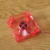 พัดลม8cm สีแดง