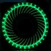 พัดลม Solar Eclipses สีเขียว