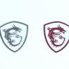 Sticker MSI Dragon Shield