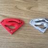 """สติ๊กเกอร์ โลหะ3D โลโก้"""" Superman """""""