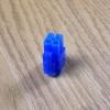 Connector 4 Pin CPU ตัวผู้ สีน้ำเงิน