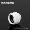 Barrow Fitting C99 T12 สีขาว ท่ออคริลิค12mm