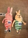 พวงกุญแจกระต่ายอูซาวิช