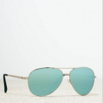 แว่นกันแดด American Eagle รุ่น AEO AVIATOR SUNGLASSES COLOR : ฺBLUE SILVER