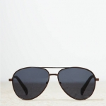 แว่นกันแดด American Eagle รุ่น AEO AVIATOR SUNGLASSES COLOR : ฺBRONZE