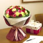 ช่อดอกไม้ ของขวัญแก่คนพิเศษ