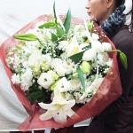 ช่อดอกไม้ ขนาดใหญ่พิเศษ ดอกไม้นอก ผู้รับประทับใจ