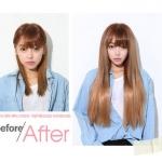 TIP : DIY Ombré hair จากคลิปต่อผม แบบตรง
