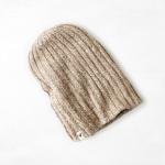 หมวกไหมพรม American Eagle Ribbed Reversible Beanie - Oatmeal Heather