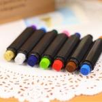 ปากกาหมึกแสตมป์ 2 สี เซ็ต 5 แท่ง