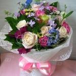 ช่อดอกไม้นานาชนิดแสดงความยินดี ดีไซน์เกาหลี