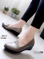 66013 รองเท้าคัชชูด้านในบุนวมนิ่มเว่อร์!! เพื่อสุขภาพเท้า