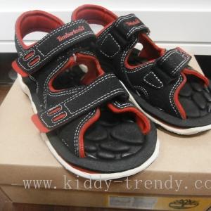 รองเท้าสาน Timberland สีโทนแดง-ดำ ของแท้ ออเดอร์เกินรง บนช๊อปคู่หลายพันค่ะ s. 19cm.
