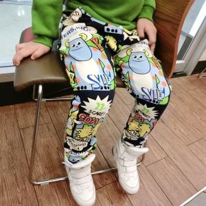 กางเกงขายาว ทรงฮาเร็ม ลายการ์ตูน Monster Inc ผ้าสำลีเนื้อดี ใส่กันหนาวได้ค่ะ พิมพ์ลาย สีสวยน่ารักมากๆค่ะ มีไซส์ 5 / 7 / 9 / 11