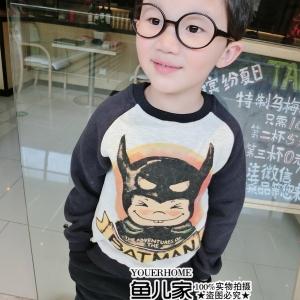 เสื้อสเวตเตอร์ กันหนาวลาย Batman การ์ตูนขวัญใจน้องๆ มีไซส์ 90 / 100 / 110 / 120 /130