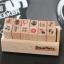 ตัวแสตมป์เกาหลีในกล่องไม้ 12 ชิ้น thumbnail 9