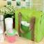 Lunch Bag กระเป๋าปิคนิคเก็บความเย็น ใส่อาหาร ขวดนม ฯลฯ สีเทา thumbnail 2