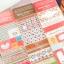 Fabric Sticker สติ๊กเกอร์ผ้าสำหรับตกแต่ง 3 แผ่น thumbnail 1
