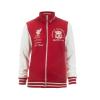 เสื้อลิเวอร์พูล แจ็คเก็ตฟอล์คเนอร์สีแดงขาว สำหรับผู้หญิง ของแท้ 100% Liverpool FC Ladies Falkner Zip Thru