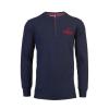 เสื้อลิเวอร์พูล ของแท้ 100% Liverpool FC Mens Long Sleeve Navy Paneka Tee
