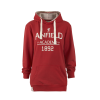 เสื้อฮู้ดลิเวอร์พูล ลิซ่าเดรสฮู้ดดี้สีแดง สำหรับผู้หญิง ของแท้ 100% Liverpool FC Ladies Liza Dress Hoody