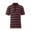เสื้อโปโลลิเวอร์พูล ของแท้ 100% Liverpool FC Mens Red Stripe Polo