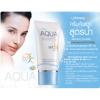 Mistine AQUA base sunscreen facial cream SPF50 PA+++ กันแดดสูตรน้ำ เบาสบาย ไม่เหนอะหนะ ไม่มัน ไม่หมองคล้ำ นานตลอดวัน