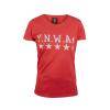 เสื้อทีเชิ้ตลิเวอร์พูล ทีเชิ้ต YNWA  สำหรับผู้หญิง สีแดง ของแท้ 100% Liverpool FC Ladies Red YNWA Tee