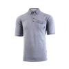 เสื้อโปโลลิเวอร์พูล ของแท้ 100% Liverpool FC Mens Blue Chambrey Detail Polo