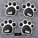 กันกระแทก สติ๊กเกอร์ รอยเท้าหมี น่ารักๆ (สีดำ)