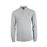 เสื้อโปโลลิเวอร์พูล ของแท้ 100% Liverpool FC Mens Grey Long Sleeve Polo