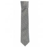 เนคไทแมนเชสเตอร์ ยูไนเต็ดของแท้ Manchester United Crest Skinny Tie Silver Polyester