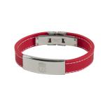 สร้อยข้อมือลิเวอร์พูล ของแท้ 100% Liverpool FC Red Stitched Bracelet