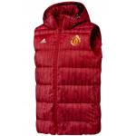 เสื้อแมนเชสเตอร์ ยูไนเต็ด Down Vest สีแดงของแท้