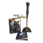 Harry Potter wand + sticker book (เปิด-ปิดไฟได้)