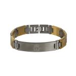 สร้อยข้อมือลิเวอร์พูล ของแท้ 100% F.C. Liverpool IP Plated Bracelet